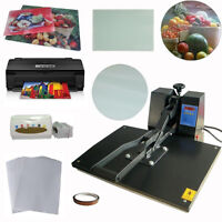 16x24 Heat Press Printer CISS Blank Sublimation Transfer Kit