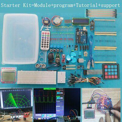 Easy Fun Smart Mcu Iot Program Ultimate Starter Learning Kit For Arduino Uno R3
