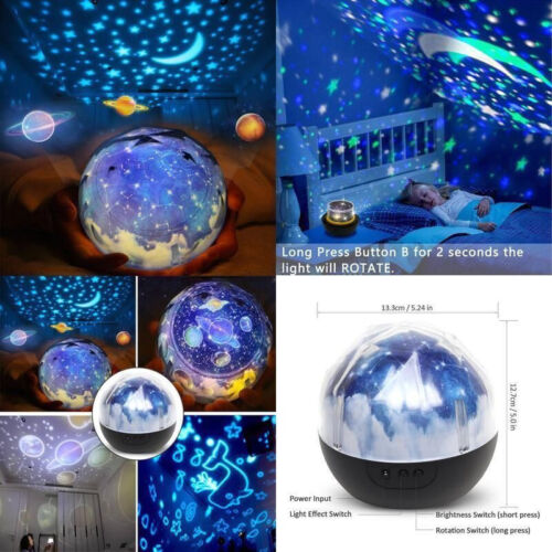 star sea night lights for children kids