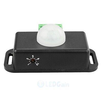 Body Infrared PIR Motion Sensor Switch DC 12V/24V  For LED Light Strip Automatic
