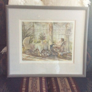 "Trisha Romance signed print ""Mothers Arms"""
