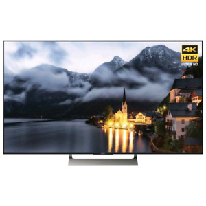 "Sony 65"" 4K UHD HDR LED Android Smart TV (XBR65X900E) - Black"