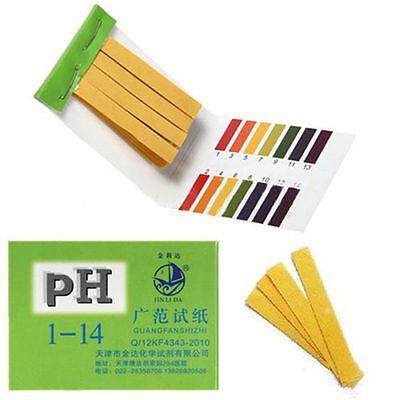 Full Range 160 Strips Ph Alkaline Acid 1-14 Test Paper Water Litmus Testing Kit