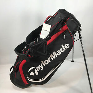 *NEW* TAYLORMADE 2016 BLACK-RED 4.0 STAND BAG