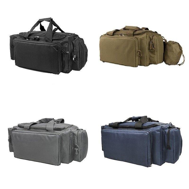NcSTAR Vism Tactical Hunting Multi-Compartment Expert Range Utility Bag Gray