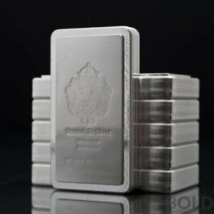 Scotsdale Stacker 10 oz Silver Bar - 0.999 Fine Silver