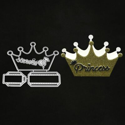 Crown DIY Cutting Dies Stencil Scrapbooking Album Paper Card Embossing Craft - Diy Paper Crown