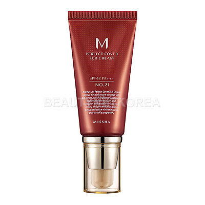 [MISSHA] M Perfect Cover BB Cream [SPF42/PA+++] 50ml #21 / Korea cosmetic