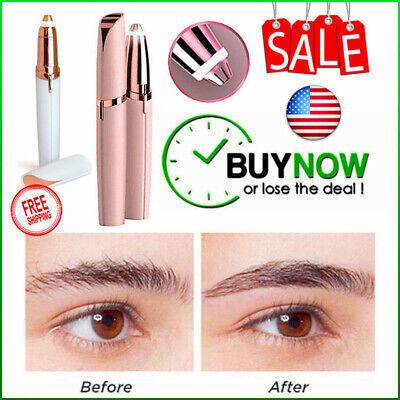 Finishing Touch Hair Trimmer - New Hair Touch Electric Brows Eyebrow  Removal Trimmer LED Women's Finishing USA