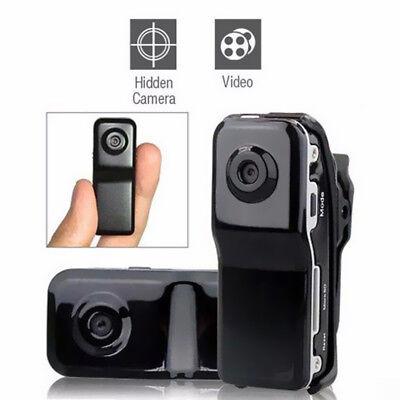 Smallest Mini Spy Sport Video Audio Color MD80 HD Micro Camera DVR Recorder