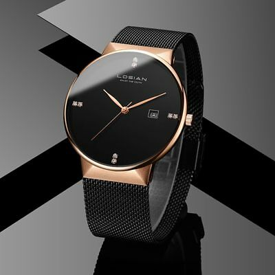 New Arrival 2019 LOSIAN Best New Luxury Quartz Men's Wristwatch (Best Mens Luxury Watches 2019)