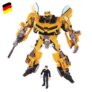 Transformers Transforming Bumblebee Roboter Auto ACTION FIGURE Sam mit Packung