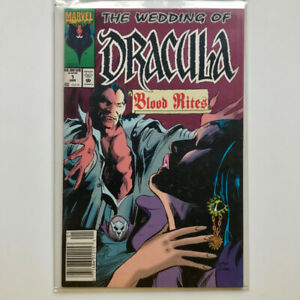 Wedding of Dracula – Blood Rites One Shot #1 Jan 1993, Marvel