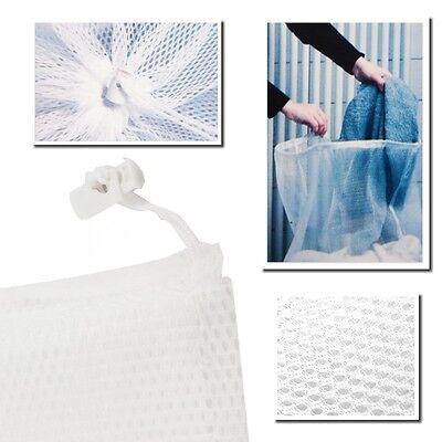 2 x Großer Wäschesack Wäsche Netz 61 x 91 cm für Wäsche bis 3 Kg Wäsche Sack