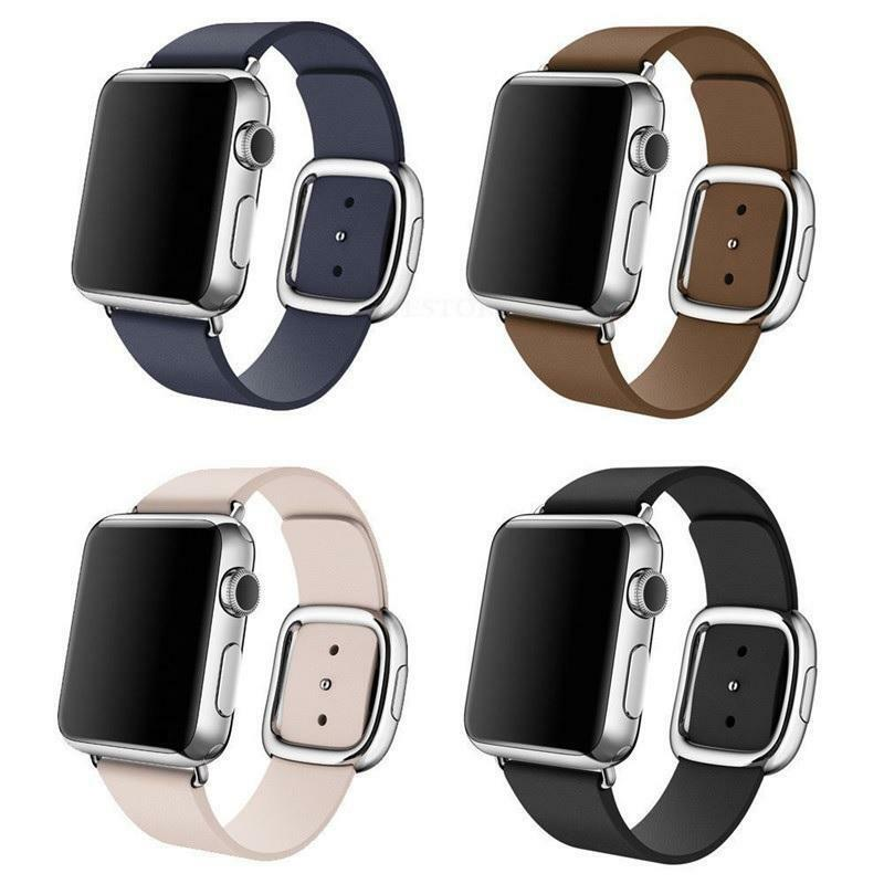 Apple Watch 38MM Stainless Steel with Leather Bands - Brand New