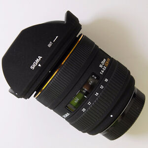 Sigma 10-20mm F4-5.6 EX DC HSM lens(for Canon)
