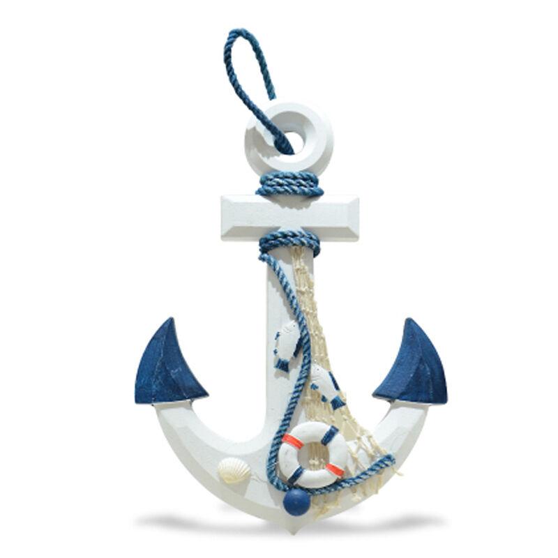 Ancora Barca Decorativa Da Parete In Legno Decorazione Casa Arredamento Mare moc