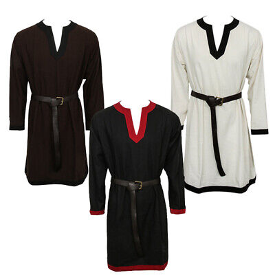 Renaissance Tunic (Medieval Elven Tunic renaissance Larp Shirt SCA Costume Viking)