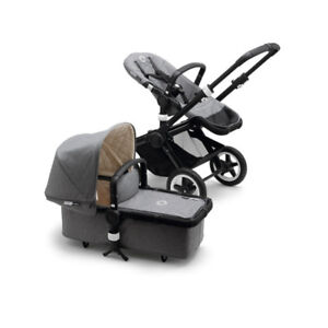 Bugaboo Buffalo (Gray) - Excellent Condition, Many Accessories