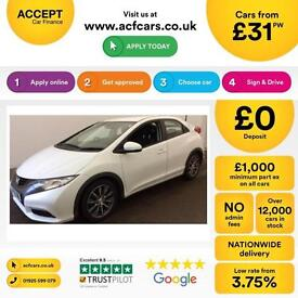 Honda Civic 2.2i-DTEC 2012MY ES FROM £31 PER WEEK !