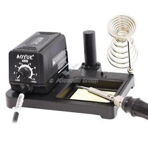 soldering iron aoyue 469 station 60 watt with interchangeable tip pcb soldering ebay. Black Bedroom Furniture Sets. Home Design Ideas