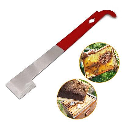 Beekeeper J Shape J-type Hive Tool Beekeeping Hook Equip Stainless Steel Scraper