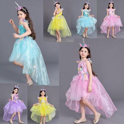 Blumenmädchen Prinzessin Halloween Kleid Baby Kinder Hochzeit Geburtstag - Halloween Hochzeit Kleider