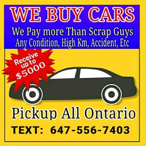 WE BUY TOYOTA / LEXUS CARS UP TO $5000 CASH