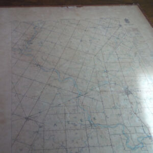 Dept of Ntl Defence, Army Survey Maps, now Region of Waterloo