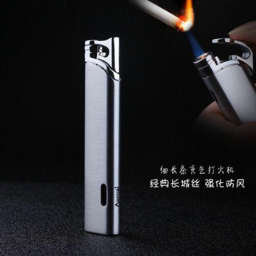 Jet Gas Torch Turbo Lighter Refillable Adjustable Windproof Metal Cigar Lighters