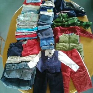 Large lot of boys clothes size 12 months