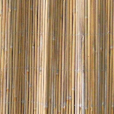 Terra Split Bamboo Garden Screening Fencing Privacy  1m x 5m - 4 Pack Multi Buy