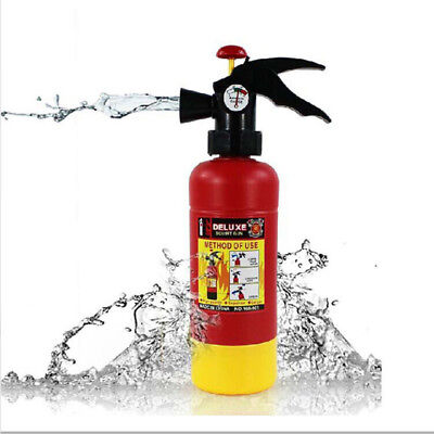 Water Gun Fire Extinguisher Super Soaker Toy Squirt Plastic Blaster Splash