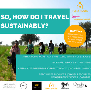 Sustainable Travel Info Event