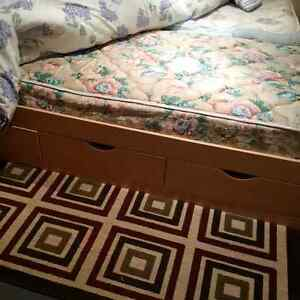 Two Bed Frames with Mattress