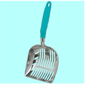 Duranimals-Original-DURASCOOP-Aluminum-Cat-Litter-Scoop