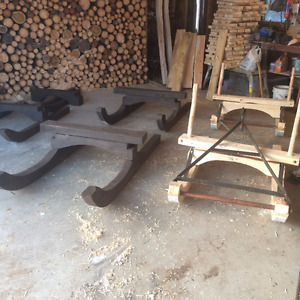new wood sleds//reduced price