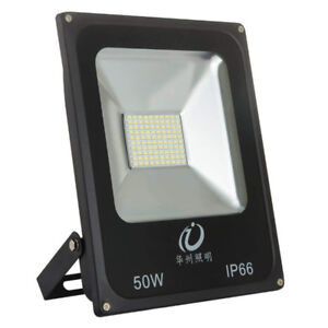 50W LED Flood Light Outdoor Waterproof IP65 6000K AC85-265V