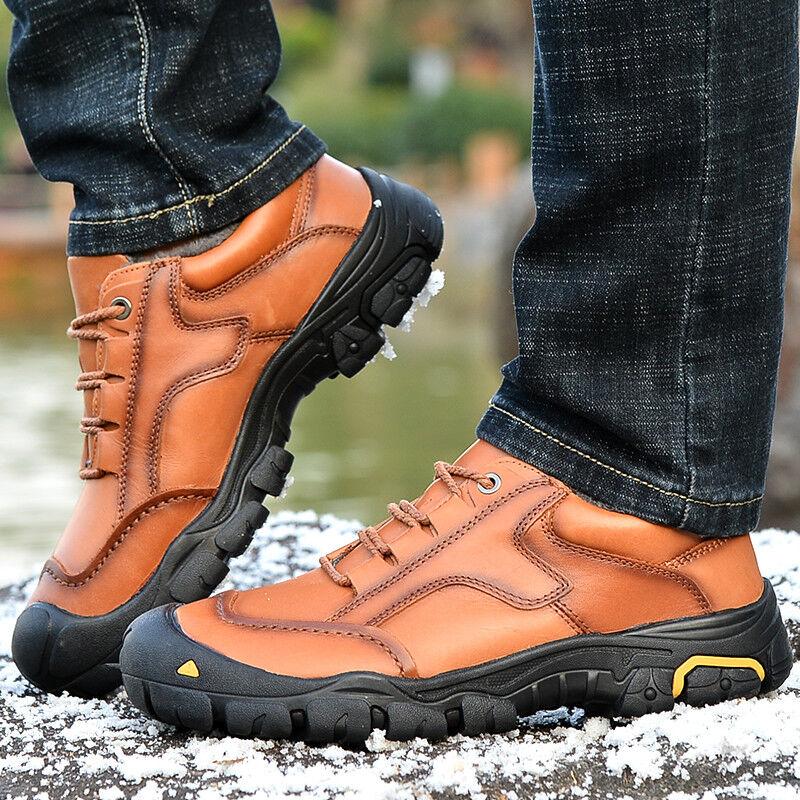 Herren Wanderschuhe Schuhe Outdoor Sneakers Winter Warm Sneaker Plus Größe 49 50 | eBay