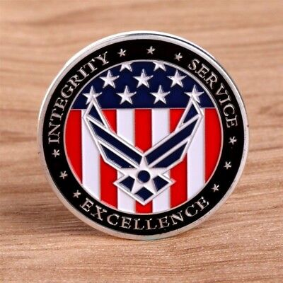 Air Force Oath Challenge Coin Honoring Our Heroes