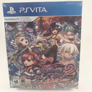 Criminal Girls 2 Party Favors Factory Sealed PS Vita