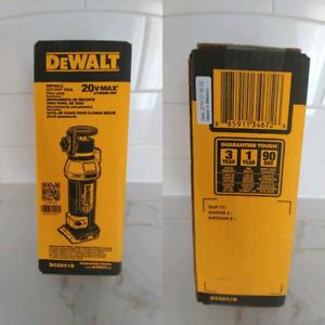 Dewalt 20v outil à decouper le gypse/rotor/cutout tool NEW 2019