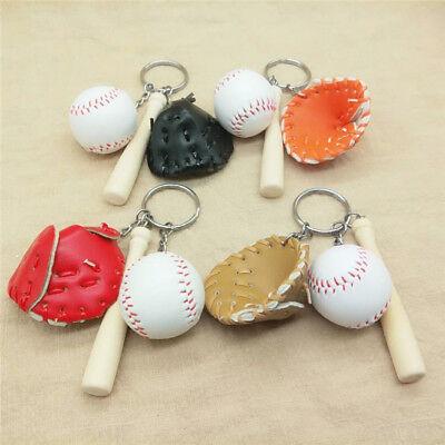 Auto Classic Softball Baseball Keychain Anhänger Dekor Schlüsselanhänger Tasche
