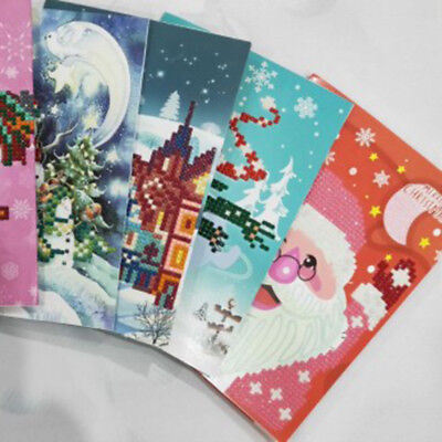 Diamond Painting Christmas Greeting Card Gift Best Wish Home Decor