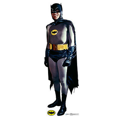 BATMAN and Robin 1966 Adam West Lifesize CARDBOARD CUTOUT Standup Standee Poster