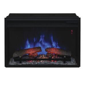 """ClassicFlame 26II310GRA 26"""" Infrared Quartz Fireplace Insert wi"""