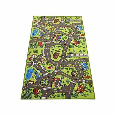 """Extra Large 79"""" x 40""""! Kids Carpet Playmat Rug City Life - Great For Playing"""