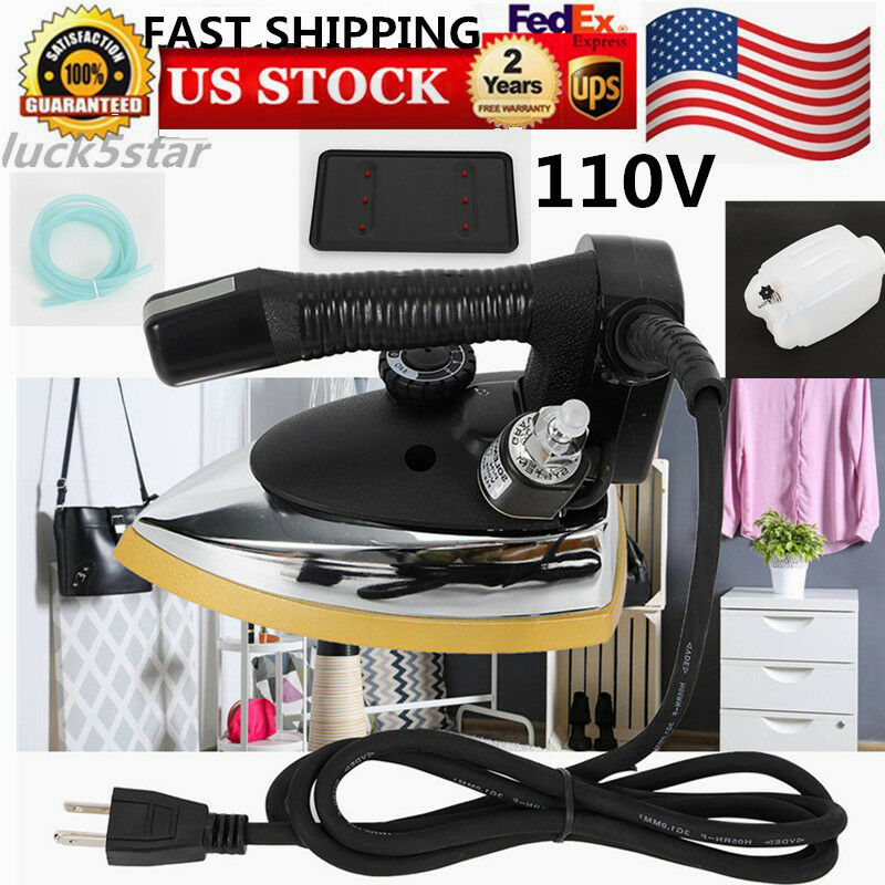 USED Steam Iron For Powerful Super Hot 1000W Industrial Gravity Steam Iron