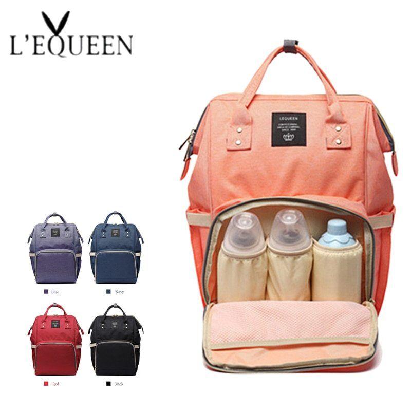 Luxury Maternity Nappy Diaper Bag Large Capacity Baby Mummy