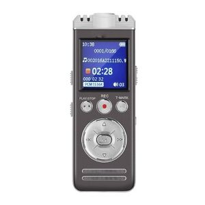 Digital Voice Recorder/MP3 Player ~ Rechargeable~ Loaded ~ NEW!